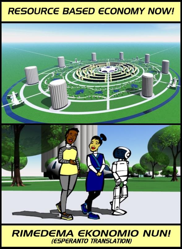 Resource based economy city